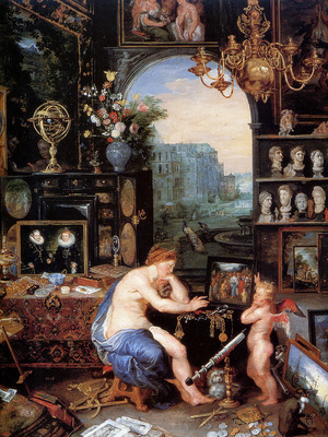 Breughel J Allegory on vision Sun