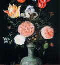 Breughel Jan Sr Flowers in a Chinese vase Sun