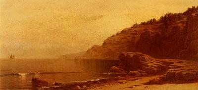 Bricher Alfred Thompson Coast Of Maine