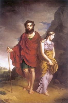 am Antoni Brodowski Oedipus and Antigone