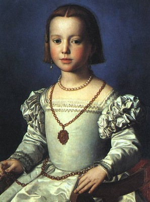 Bronzino Bia, The Illegitimate Daughter of Cosimo I de Medi