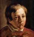 Brown Ford Madox Head of a Page Boy