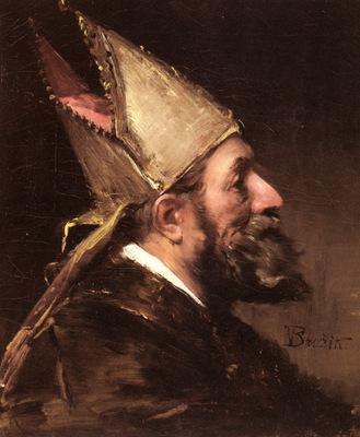 Brozik Vaclav A Bishop