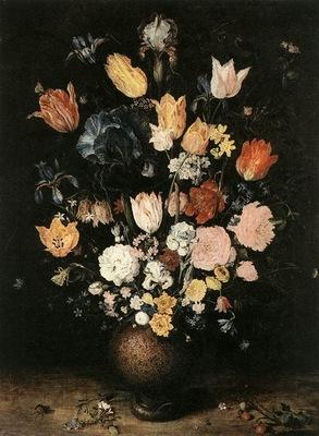 BRUEGHEL Jan the Elder Bouquet Of Flowers