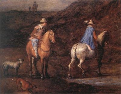 BRUEGHEL Jan the Elder Travellers On The Way detail