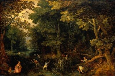Brueghel I Jan Latona and the Lycian Peasants