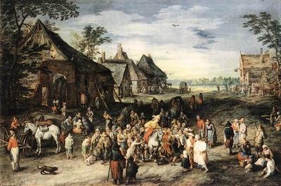 Brueghel Jan the Elder St Martin