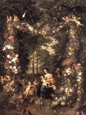 Brueghel Jan the Elder The Holy Family