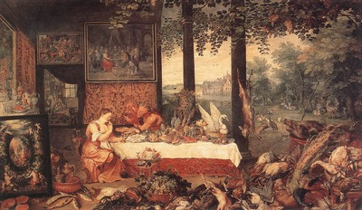 brueghel jan the elder the sense of hearing detail