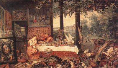 brueghel jan the elder the sense of hearing detail