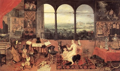 Brueghel Jan the Elder The Sense of Hearing