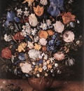 BRUEGHEL Jan the Elder Bouquet In A Clay Vase