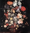 BRUEGHEL Jan the Elder Flowers In A Vase