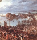 BRUEGHEL Jan the Elder Great Fish Market