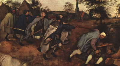 BRUEGHEL D A  THE PARABLE OF THE BLIND LEADING THE BLIND, NE