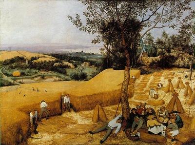 Bruegel d a  The harvesters, 1565, 118 1x160 7 cm, Metropoli