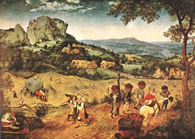 Bruegel d a  The hay harvest, 1565, National Gallery, Prag