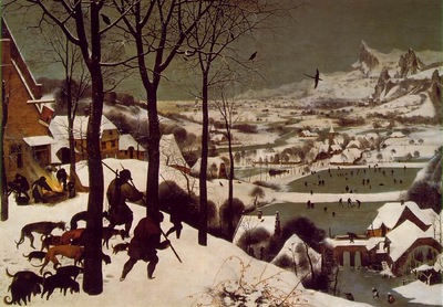 Bruegel d a  The hunters in the snow, 1565, 117x162 cm, Kuns