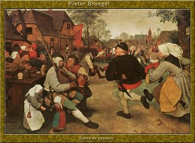PO Vp S1 49 Pieter Bruegel Danse de paysans