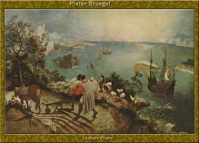 PO Vp S1 50 Pieter Bruegel La chute dIcare