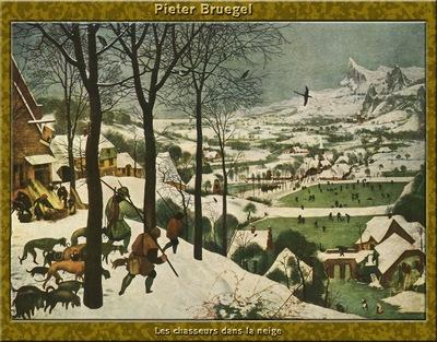 PO Vp S1 52 Pieter Bruegel Les chasseurs dans la neige