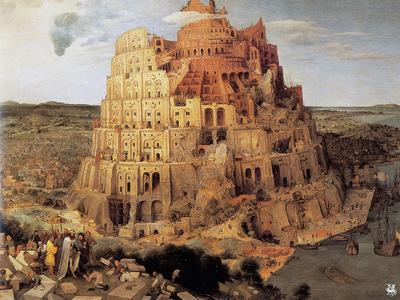 ma Bruegel La Tour de Babel