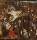BRUEGEL, PIETER THE ADORATION OF THE KINGS, 1556 62, TEMPER