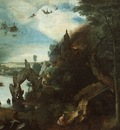 BRUEGEL, PIETER THE TEMPTATION OF SAINT ANTHONY, 1555 58, W