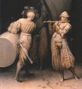 Bruegel d a  Three soldiers, 1568, 20 3 x 17 8 cm, Frick col