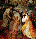 The Procession to Calvary detail II