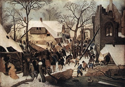 BRUEGEL Pieter the Younger Adoration Of The Magi