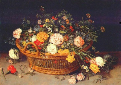 brueghel the younger basket of flowers