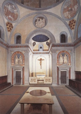 Brunelleschi Old Sacristy