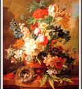 bs flo Paul Theodor Van Brussel A Vase Of Flowers