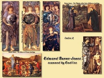 Burne Jones Index 2 end