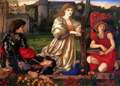 Burne Jones Le Chant d Amour Song of Love