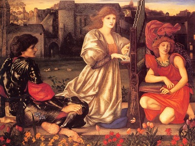 Burne Jones Le Chant dAmour end
