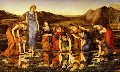 Burne Jones Sir Edward The Mirror Of Venus