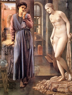 Edward Burne Jones Pygmalion, The Hand Refrains, De