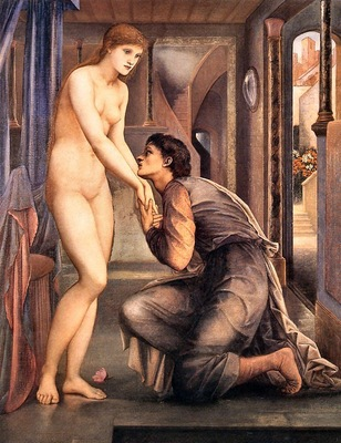 Edward Burne Jones Pygmalion, The Soul Attains, De