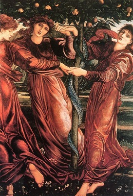 Edward Burne Jones The Garden of the Hesperides, De