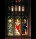 BURNE JONES Edward Christ Church Oxford Faith Hope and Charity