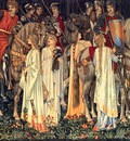 Burne Jones, Edward The Arming Departure of the Knights end