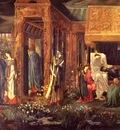 Burne Jones, Edward The Sleep of Arthur in Avalon detail end
