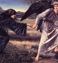Burne Jones Love Leading the Pilgrim end