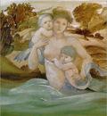 Burne Jones MermaidWithHerOffspring sj