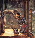 Burne Jones The Merciful Knight end