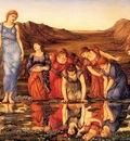 Burne Jones The Mirror of Venus end