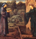 Burne Jones The Pilgrim at the Gate of Idleness end