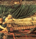 Edward Burne Jones Briar Rose, Rose Bower, De